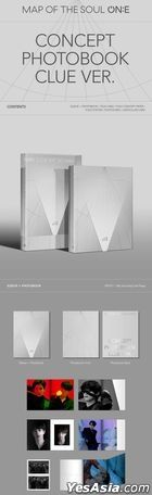 BTS - MAP OF THE SOUL ON:E Concept Photobook (CLUE Version)