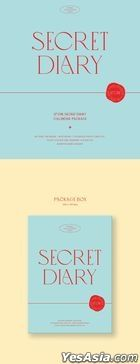 IZ*ONE - Spring Collection 'SECRET DIARY' (Calendar Package) + Poster in Tube (Calendar Package Version)
