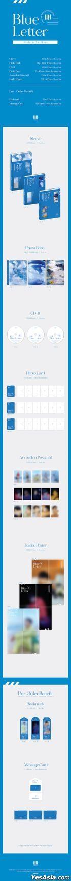 Won Ho Mini Album Vol. 2 - Blue Letter (Random Version)