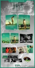 Happy Together (Blu-ray) (Steelbook Quarter Slip Limited Edition) (Korea Version)