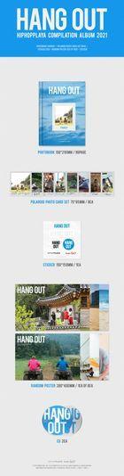 HANG OUT : HIPHOPPLAYA Compilation Album 2021 (2CD)