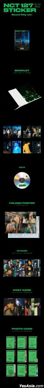 NCT 127 Vol. 3 - STICKER (Seoul City Version)
