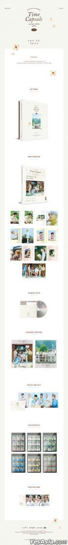 Astro 2021 Photobook - TIME CAPSULE (Photobook + DVD + Poster + Postcard + Photo Card)
