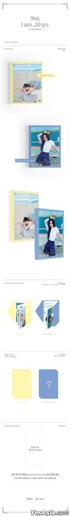 Twice: Ji Hyo Photobook - Yes, I am Jihyo (Cobalt Blue Version)