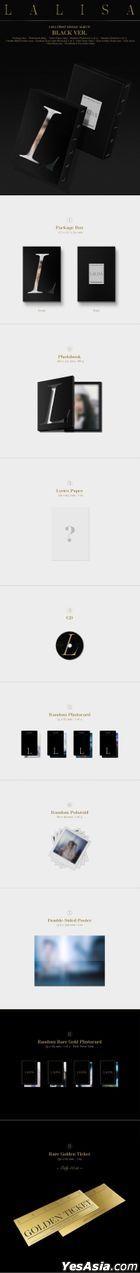 BLACKPINK : Lisa Single Album Vol. 1 - LALISA (BLACK Version)