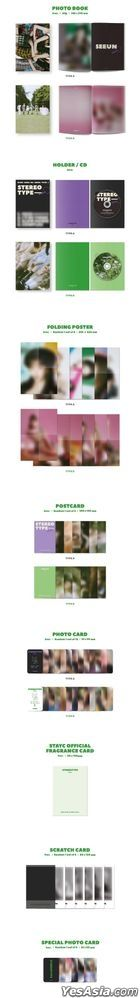 STAYC Mini Album Vol. 1 - STEREOTYPE (Random Version)