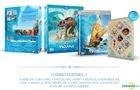 Moana (Blu-ray) (2-Disc) (2D + 3D Combo Limited Edition) (Korea Version)