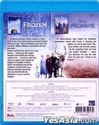 Frozen 2-Movie Collection (Blu-ray) (Hong Kong Version)