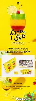 Twice Monograph - Taste of Love (Photobook + Photo Card) (Limited Edition)