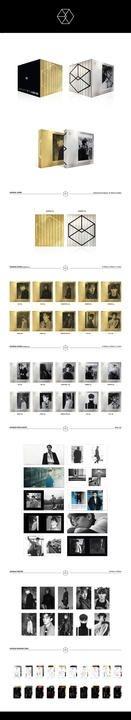 EXO Vol. 2 - Exodus (Korean Version) (Random Version)