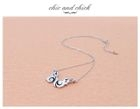 Infinite Style - Infinite Wings Necklace (Black)