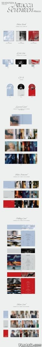 Seventeen Mini Album Vol. 9 - Attacca (Random Version)