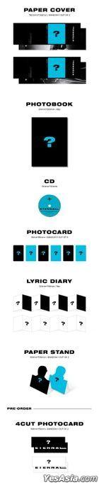 DAY6 : Young K Mini Album Vol. 1 - Eternal (Random Cover) + First Press Random 4-Cut Photo Card